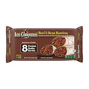 Las Campanas Beef and Bean Burritos Family Pack