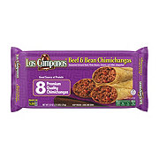 Las Campanas Beef and Bean Chimichangas