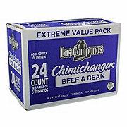 Las Campanas Chimichangas Bean And Beef