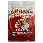 Las Sevillanas Obleas Wafers Goat's Milk Candy