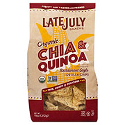 Late July Organic Chia Quinoa Tortilla Chips