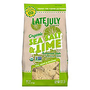 Late July Organic Sea Salt Lime Restaurant Style Tortilla Chips