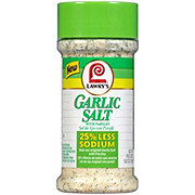 Lawry's 25% Less Sodium Garlic Salt with Parsley