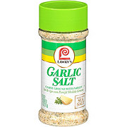 Lawry's Coarse Ground Garlic Salt with Parsley