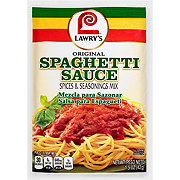 Lawry's Original Style Spaghetti Sauce Spices and Seasonings