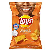 Lay's Cheddar & Sour Cream Potato Chips