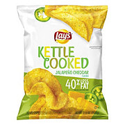 Lay's Kettle Cooked Jalapeno Cheddar Potato Chips