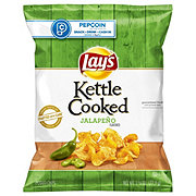 Lay's Kettle Cooked Jalapeno Potato Chips