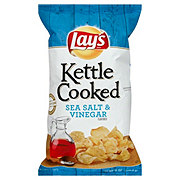 Lay's Kettle Cooked Sea Salt & Vinegar Potato Chips