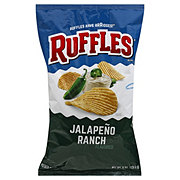 Lay's Ruffles Jalapeno Ranch Potato Chips