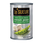Le Sueur Very Young Small Sweet Peas with Mushrooms and Pearl Onions