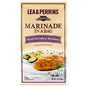 Lea & Perrins Marinade In-A-Bag Roasted Garlic Balsamic Liquid Marinade