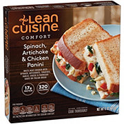 Lean Cuisine Craveables Spinach Artichoke and Chicken Panini