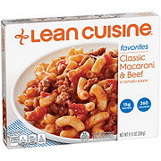 Lean Cuisine Favorites Classic Macaroni & Beef