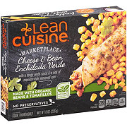 Lean Cuisine Marketplace Cheese & Bean Enchilada Verde