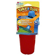 Learning Curve Take & Toss Spill Proof 10 OZ 9M+ Cups