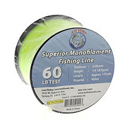 Lee Fisher Superior Monofilament Fishing Line Yellow 60 LB
