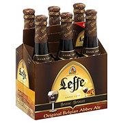 Leffe Brown Abbey Ale Beer 12 oz Bottles