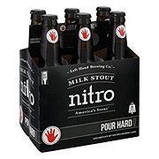 Left Hand Milk Stout Nitro  Beer 12 oz  Bottles