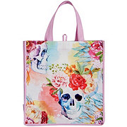 Legacy Licensing Partners Day Of The Dead Pink Skull Tote