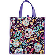Legacy Licensing Partners Day Of The Dead Sugar Skull Guitar Pattern Tote