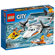 LEGO City Coast Guard Sea Rescue Plan