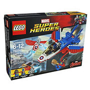 LEGO Superhero Captain America Jet Pursuit