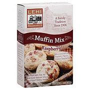 Lehi Roller Mills Muffin Mix, Raspberry