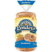 Lender's Pre-Sliced Blueberry Bagels