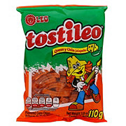 Leo Tostileo Queso Y Chile Jalapeno Flavored Corn Chips
