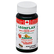 Leonflax All Natural Omega 3 6 & 9 Colon Cleanser