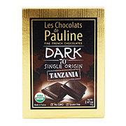 Les Chocolats De Pauline Dark Chocolate 70% Tanzania