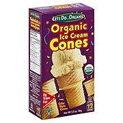 Let's Do ... Organic Ice Cream Cones