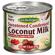 Let's Do... Organic Sweetened Condensed Organic Coconut Milk