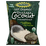 Let's Do Organic Unsweetened Organic Coconut