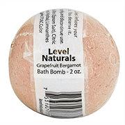 Level Naturals Grapefruit Bergamot Bath Bomb