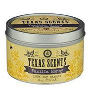 Level Naturals Texas Scents Vanilla Honey Candle