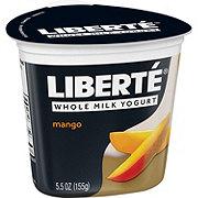 Liberte Organic Ecuadorian Mango Yogurt