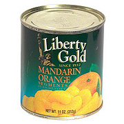 Liberty Gold Mandarin Orange Segments In Light Syrup