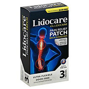 Lidocare Pain Relief Patch - Back & Shoulder