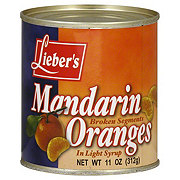 Lieber's Mandarin Oranges Broken Segments in Light Syrup