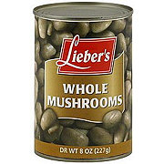 Lieber's Whole Mushrooms