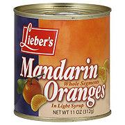 Lieber's Whole Segments in Light Syrup Mandarin Oranges