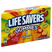 Life Savers 5 Flavors Gummies Candy Theater Box