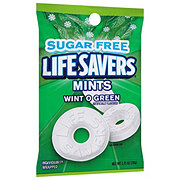 Life Savers Wint O Green Sugarfree Mints Candy Bag