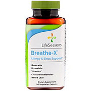 LifeSeasons Breath X Sinus Support Vegicaps