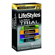 LifeStyles Ultra Trial Condoms 12 Count