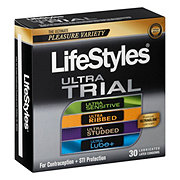 LifeStyles Ultra Trial Condoms 30 Count
