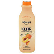 Lifeway Low Fat Peach Kefir Cultured Milk Smoothie