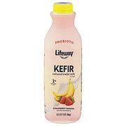Lifeway Low-Fat Strawberry Banana Kefir Milk Smoothie